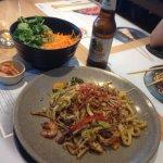 Asian food & beer