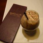 Iced Coffee Bern's Steak House