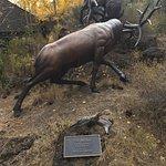 -Bronze Elk Entrance High Desert Museum, off HWY 97, south of Bend, OR