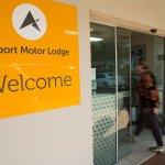 Motor Lodge entrance