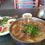 Miss Saigon juat before lunch time