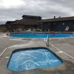 1000 Trails Bend Sunriver RV campground (TTRV) jetted hot tub/spa (Pool Closed for Winter)