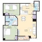Wyndham La Cascada Floor Plan