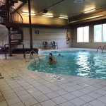 Pool and waterslide area, Super 8 Portage La Prairie MB