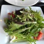 Green salad, Masthead Restaurant , 1705 Cowichan Bay Rd., Cowichan Bay, British Columbia