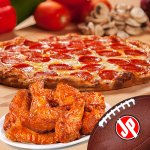 Pizza and WIngs are a winning combination!!