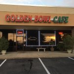 Outside of the Golden Bowl Cafe