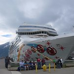 Parked at Skagway