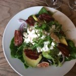 The best prawn and avocado salad as have ever eaten.  Certainly have it again.  Great pub and fr
