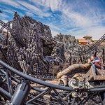 Taron ist der schnellste Multi-Launch-Coaster der Welt - nur einer von vier Weltrekorden!