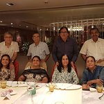 "Husbands and wives after family dinner at ""PAATRA"""
