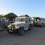 Luderitz Shark Iland camping