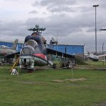 A few exhibits at Midland Air Museum