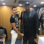 Jason Collins, NBA star, fitting with Roshan