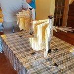 homemade pasta - yum!