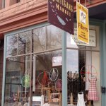 Fall River Fibers store front