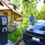 Tesla Charging Station at Beechwood Inn