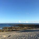 La plage juste en face