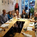 Wine and Cheese, Class of 10/23/17. FUN GROUP!