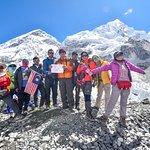 Group photo at Everest Base Camp