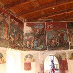 one of the many rooms with the murals