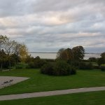 vue de notre chambre sur la baie de Somme