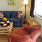 Full 1 Bdrm units have a sleeper sofa in the Living Room