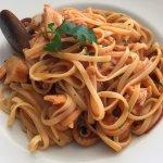 Linguine mit Meeresfrüchten (Mittagstisch)