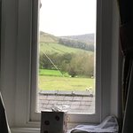 Taken lying on my bed looking North towards the Pennine Way