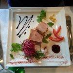 Foie gras maison et ses toasts