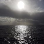 horizon from the boat