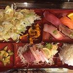 Sashimi and Sushi Bento Box