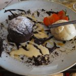 warm chocolate fondant