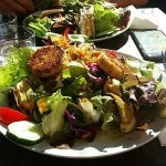 Salade Chèvre chaud pané