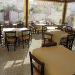 Early morning: Empty restaurant
