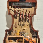 Violin Maker's Shop by Foster Tracy