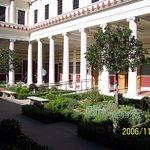 The Getty Villa; Photo # 8; View of the interior court.