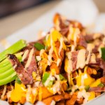 Boss your fries with any combination of toppings