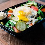 Try an organic fried egg on your next lettuce bowl