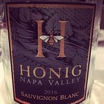 Honig Wine from Napa #NapaStrong (suggested by the staff) Delicious