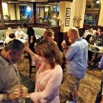 Dancing in the main restaurant