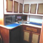 The galley.