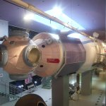 Space station mock up you can visit.