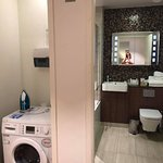 Bathroom and Mini Laundry, its a washer dryer combo
