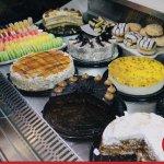 Variedad tortas y pasteles