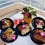 5 Meal Options Aboard Quicksilver Sunset Dinner Cruise From Lahaina