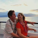 Couples Aboard Quicksilver Sunset Dinner Cruise From Lahaina