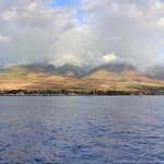 View of Lahaina Aboard Quicksilver Sunset Dinner Cruise From Lahaina