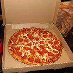 Pizza .. so heisst das Ding bei uns