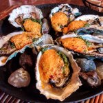 Oysters Rockoyaki